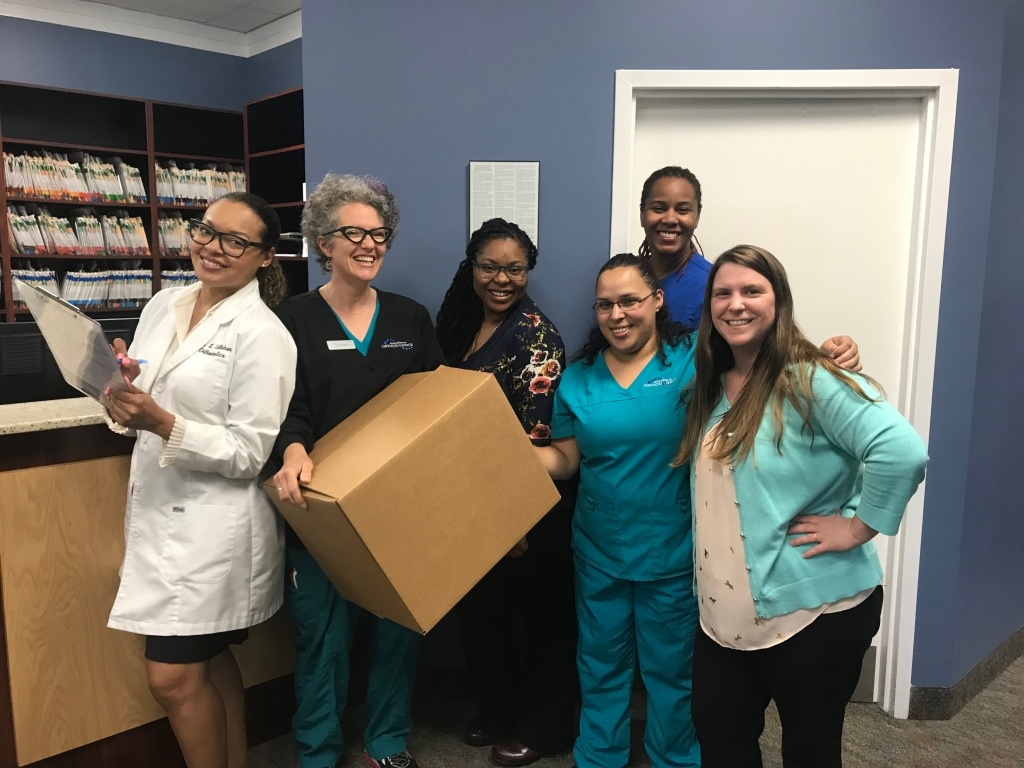 Dr. Callahan and her staff are excited to be moving to their new location at Specialists in Orthodontics' Cross Keys location.